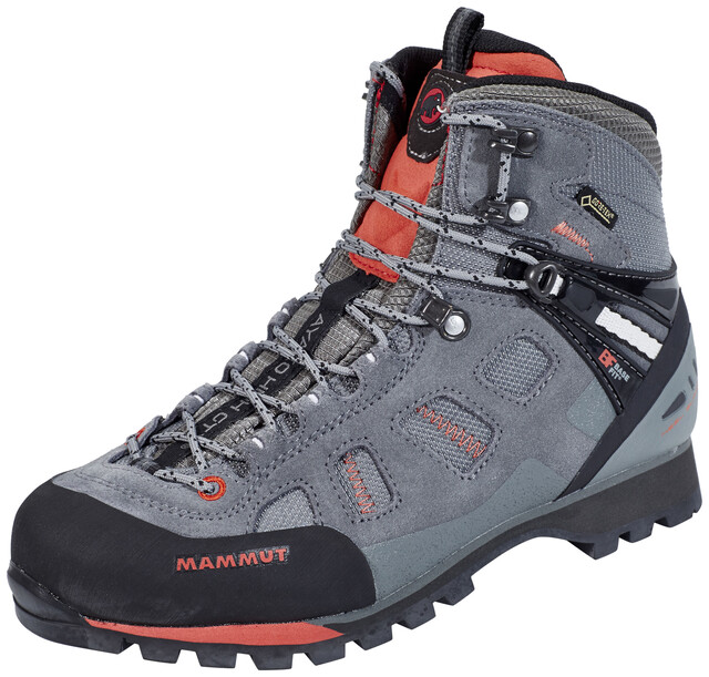 Klettergurt Mammut Größentabelle : Mammut ayako high gtx shoes women grey dark barberry campz